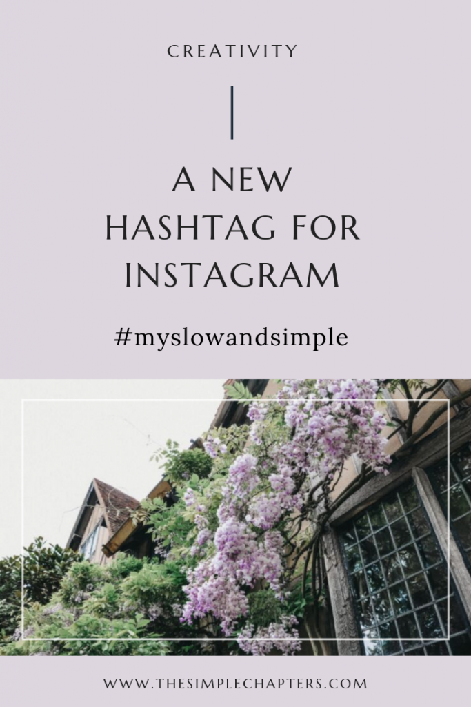 A New Instagram Hashtag
